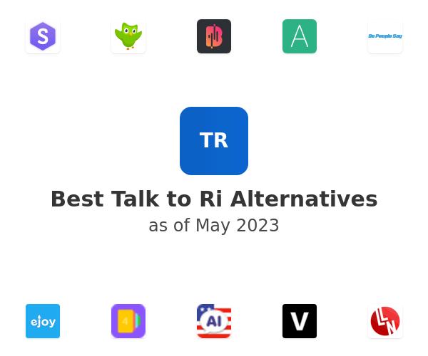 Best Talk to Ri Alternatives