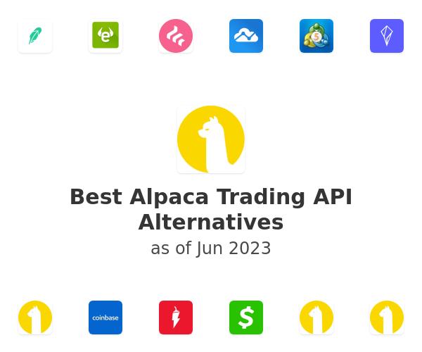 Best Alpaca Trading API Alternatives