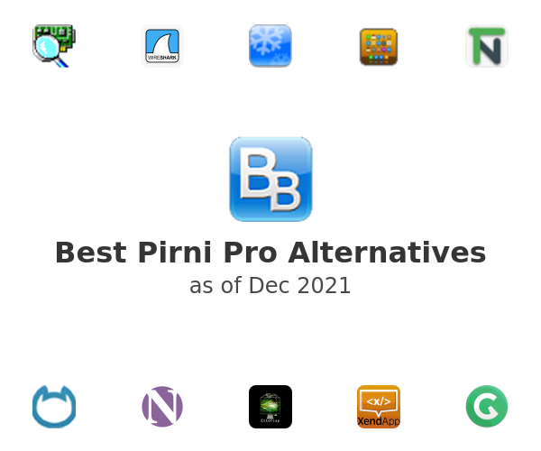 Best Pirni Pro Alternatives