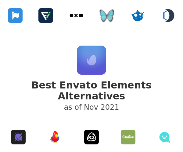 Best Envato Elements Alternatives