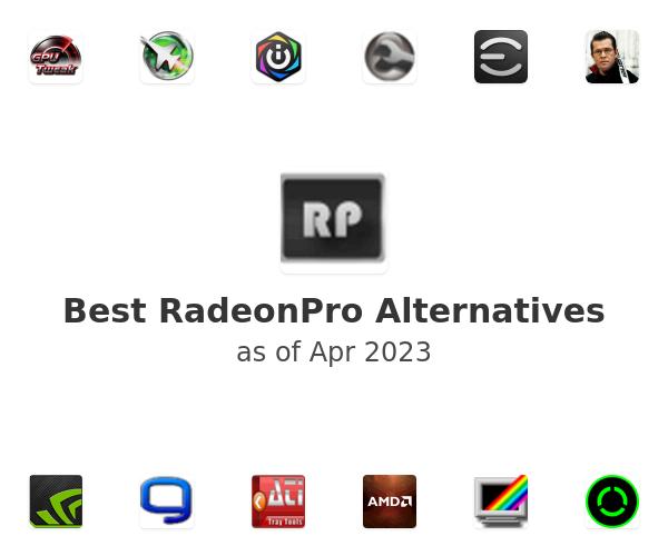 Best RadeonPro Alternatives
