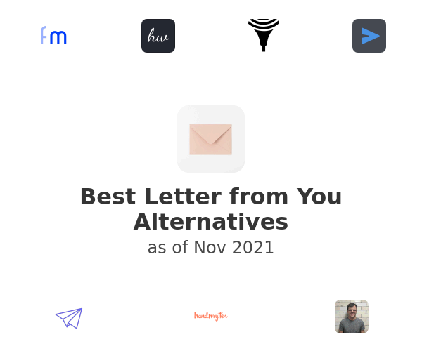 Best Letter from You Alternatives
