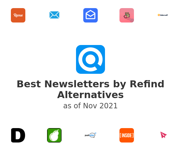Best Newsletters by Refind Alternatives