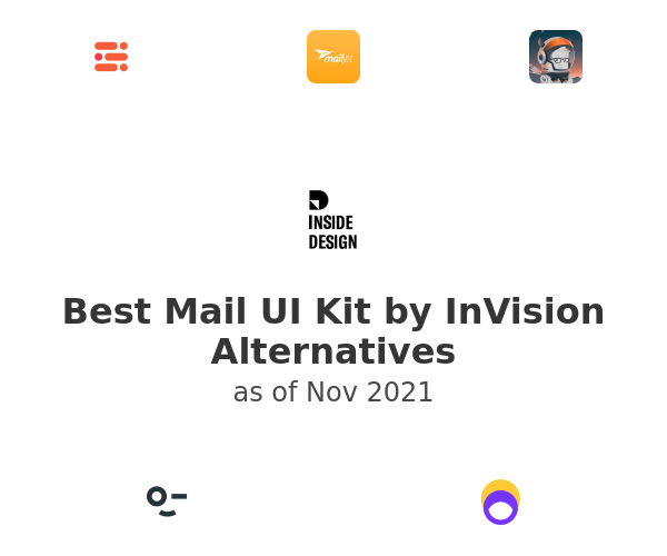 Best Mail UI Kit by InVision Alternatives
