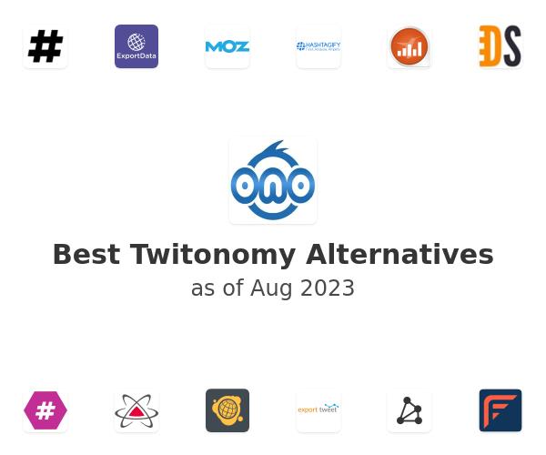 Best Twitonomy Alternatives