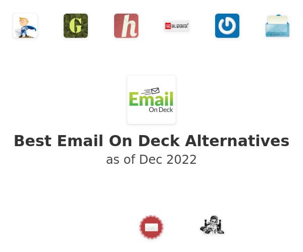 Best Email On Deck Alternatives