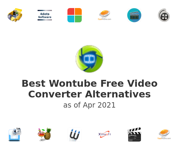 Best Wontube Free Video Converter Alternatives