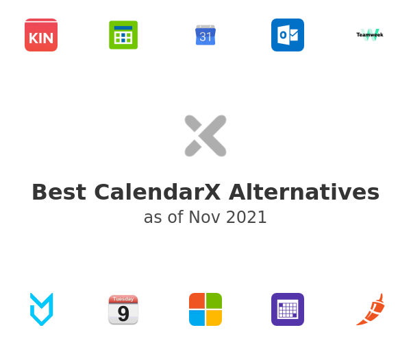 Best CalendarX Alternatives