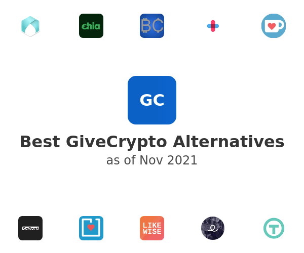 Best GiveCrypto Alternatives
