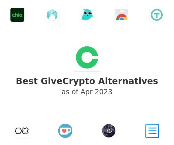 Best GiveCrypto Alternatives