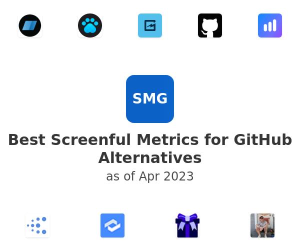 Best Screenful Metrics for GitHub Alternatives