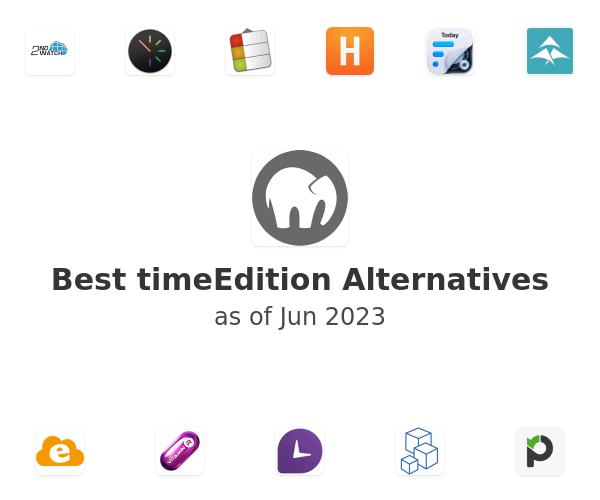 Best timeEdition Alternatives