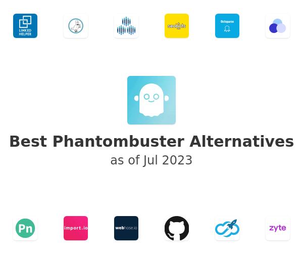 Best Phantombuster Alternatives