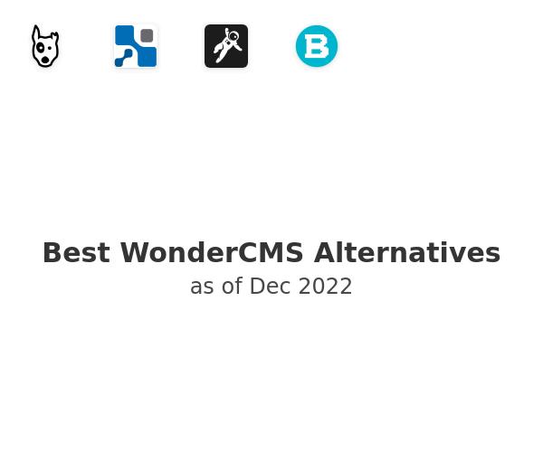 Best WonderCMS Alternatives