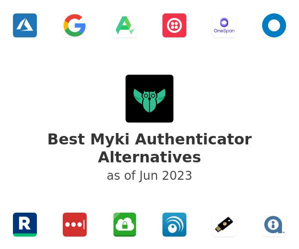 Best Myki Authenticator Alternatives