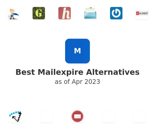 Best Mailexpire Alternatives