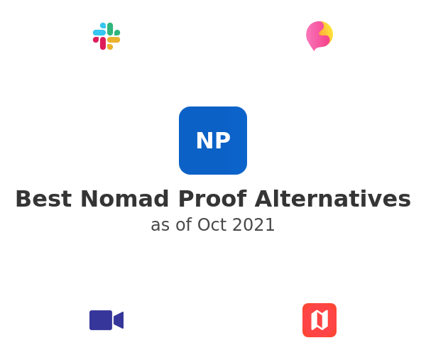 Best Nomad Proof Alternatives