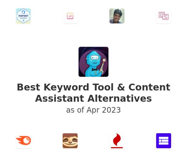 Best Keyword Tool & Content Assistant Alternatives