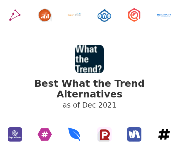 Best What the Trend Alternatives