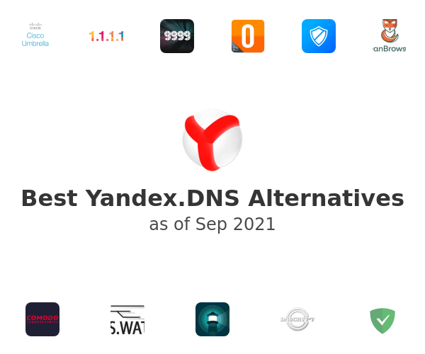 Best Yandex.DNS Alternatives