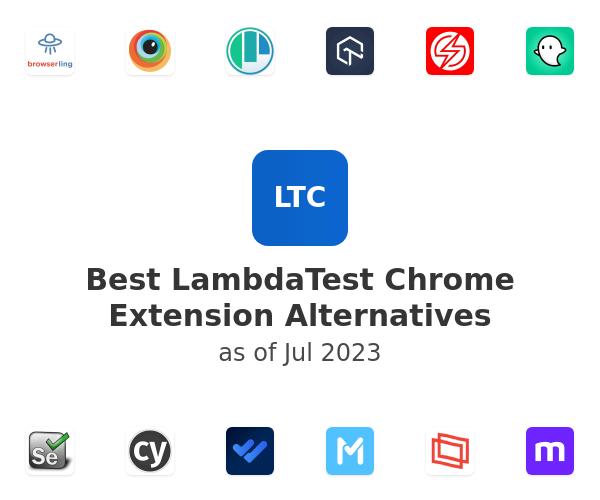 Best LambdaTest Chrome Extension Alternatives