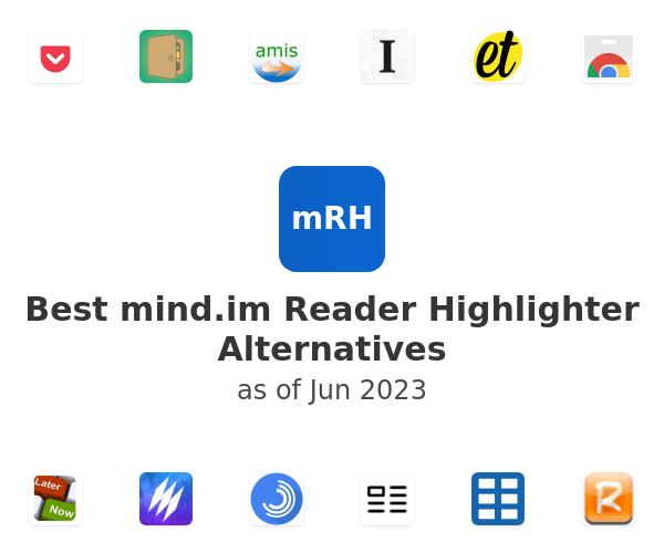 Best Reader Highlighter Alternatives