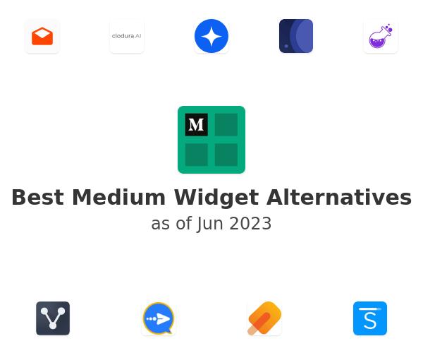 Best Medium Widget Alternatives