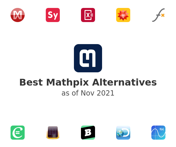Best Mathpix Alternatives
