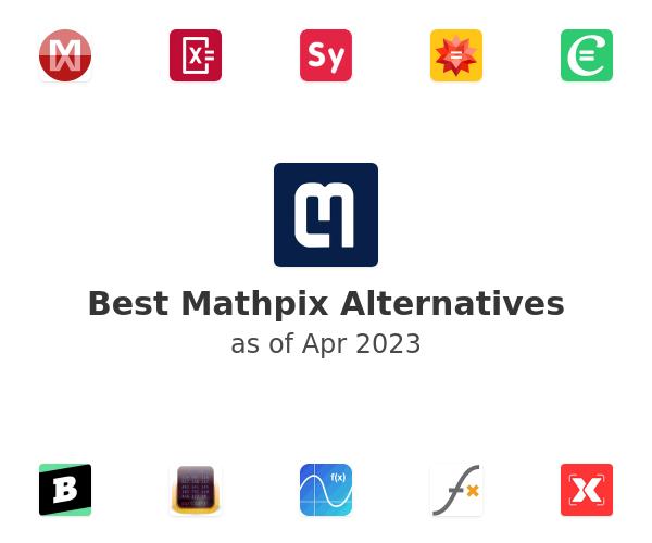 Best Mathpix Alternatives
