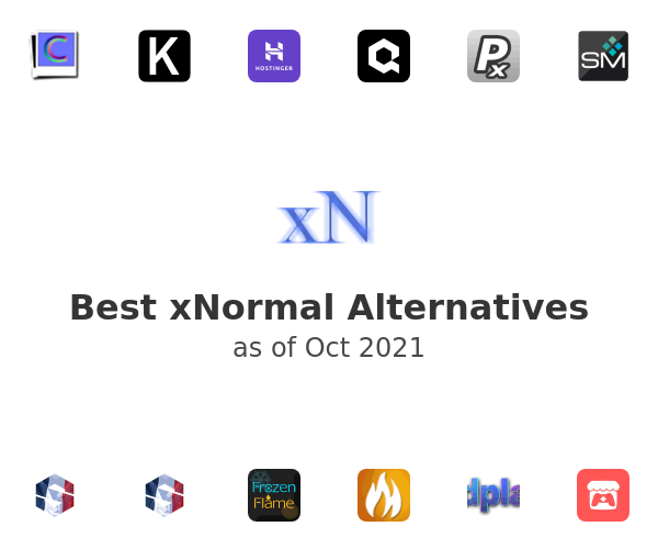 Best xNormal Alternatives