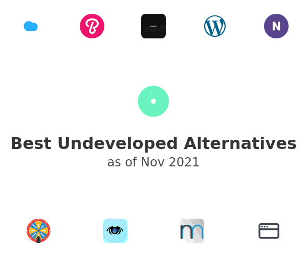 Best Undeveloped Alternatives