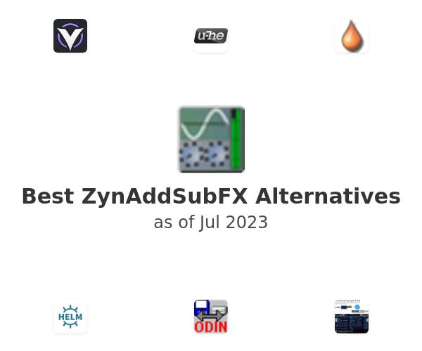Best ZynAddSubFX Alternatives