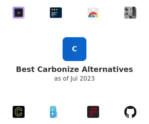 Best Carbonize Alternatives