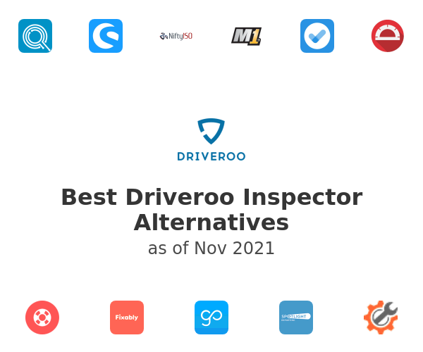 Best Driveroo Inspector Alternatives