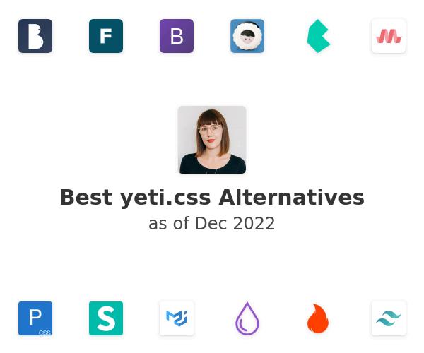 Best yeti.css Alternatives