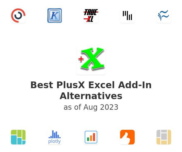 Best PlusX Excel Add-In Alternatives