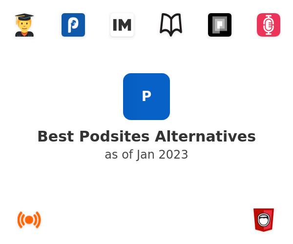 Best Podsites Alternatives