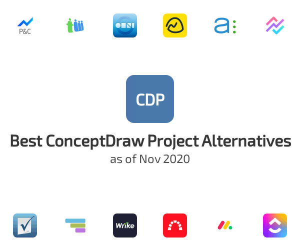 Best ConceptDraw Project Alternatives