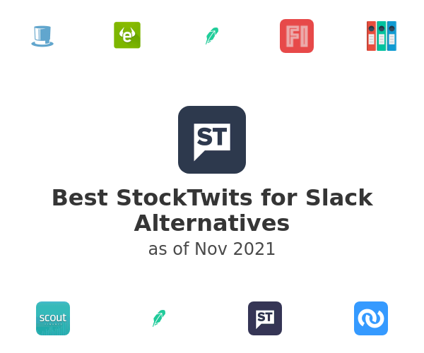 Best StockTwits for Slack Alternatives