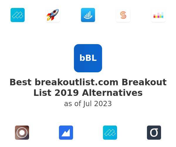 Best Breakout List 2019 Alternatives