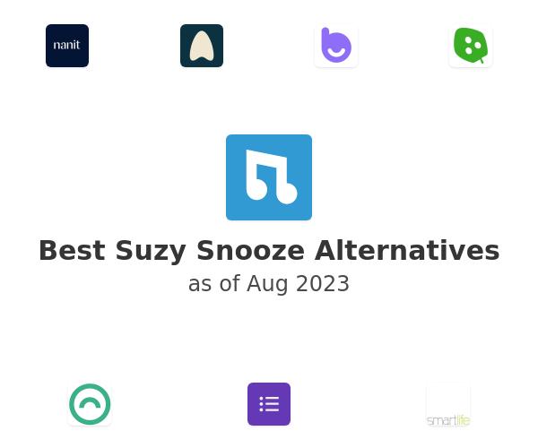 Best Suzy Snooze Alternatives
