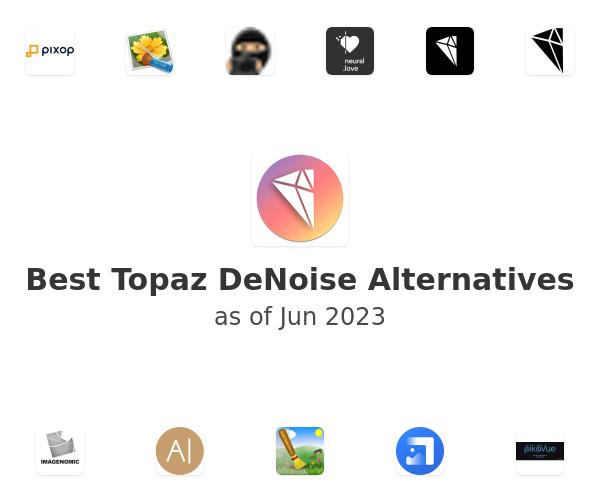 Best Topaz DeNoise Alternatives