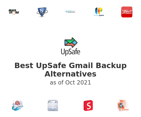 Best UpSafe Gmail Backup Alternatives