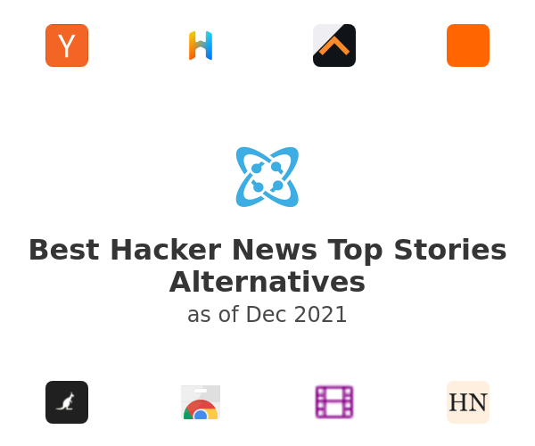 Best Hacker News Top Stories Alternatives