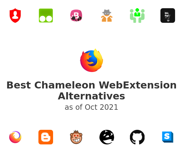 Best Chameleon WebExtension Alternatives