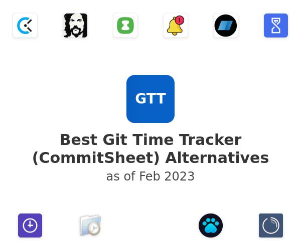 Best Git Time Tracker (CommitSheet) Alternatives