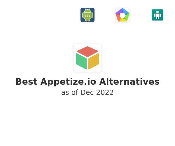 Best Appetize.io Alternatives