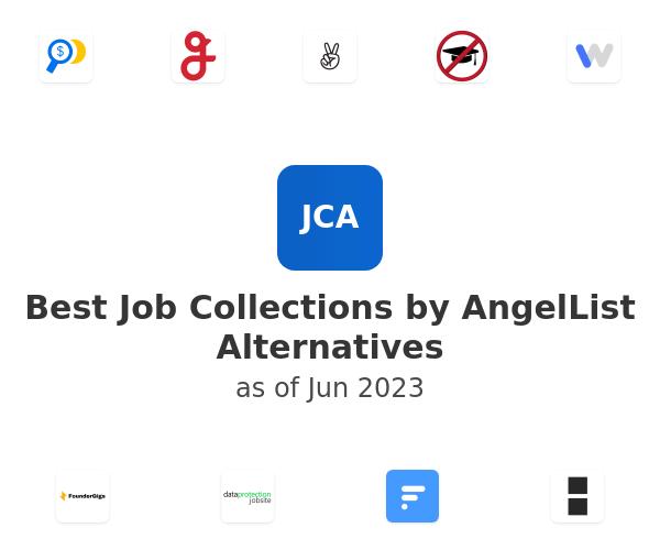 Best Job Collections by AngelList Alternatives