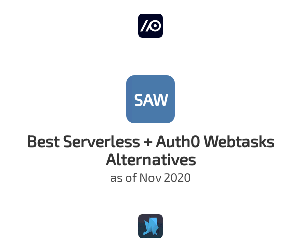 Best Serverless + Auth0 Webtasks Alternatives