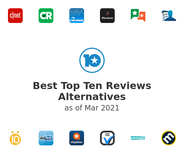 Best Top Ten Reviews Alternatives